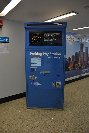 photo of Parking Pay Station