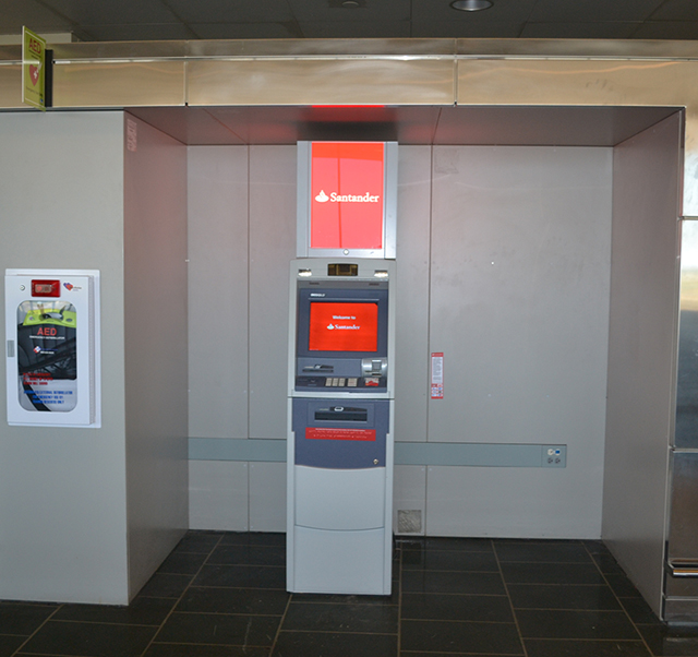 photo of Santander ATM