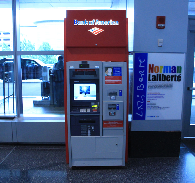 photo of Bank of America ATM
