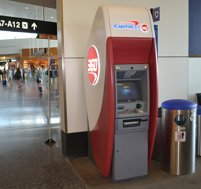 photo of Capital One ATM