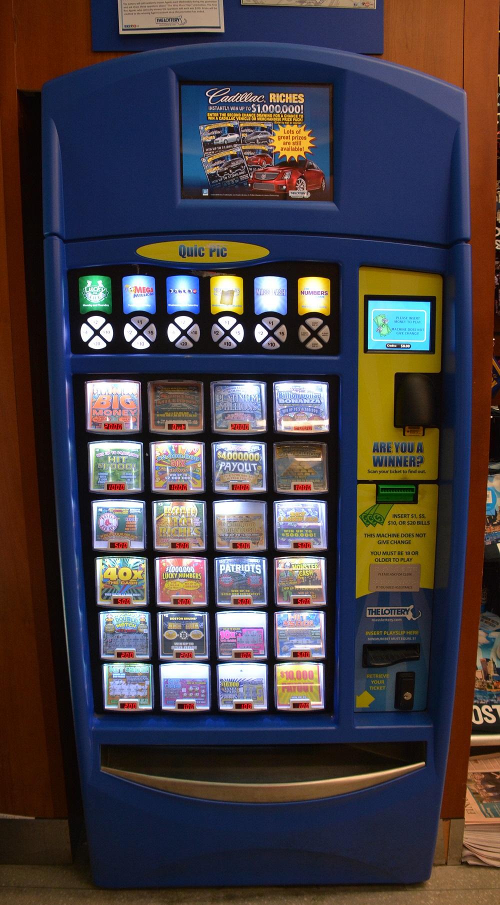 photo of Massachusetts State Lottery